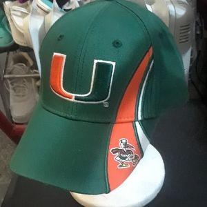 University of Miami hat unisex